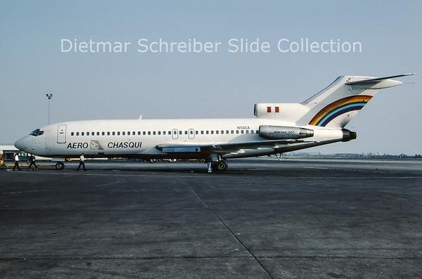 1990-10 N113CA Boeing 727-100 Aero Chasqui