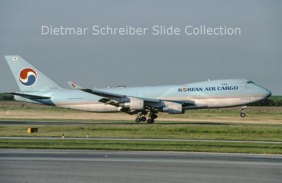 2009-08 HL7601 Boeing 747-4B5ERF (c/n 33946) Korean Air