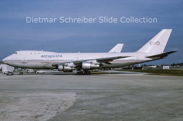 1993-03 N747PA Boeing 747-100 Aeroposta