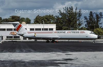 1996-12 N990AX Douglas DC9-40 Airborne Express