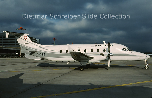2009-05 T-729 Beech 1900 Swiss Air Force