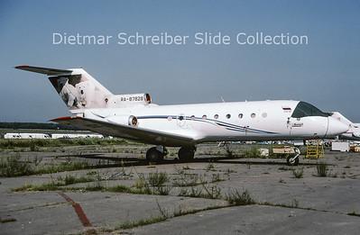2009-07 RA-87828 Yakovlev 40 Rusjet