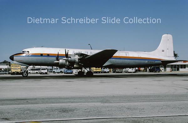 HI-621CT Douglas DC7 AMSA