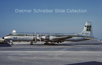 N907L Canadair CL44 Millon Air