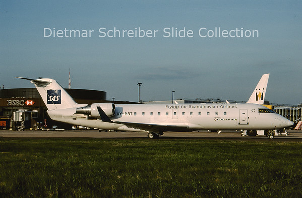 2009-04 OY-MBT Canadair Regionaljet 200 Cimber Air