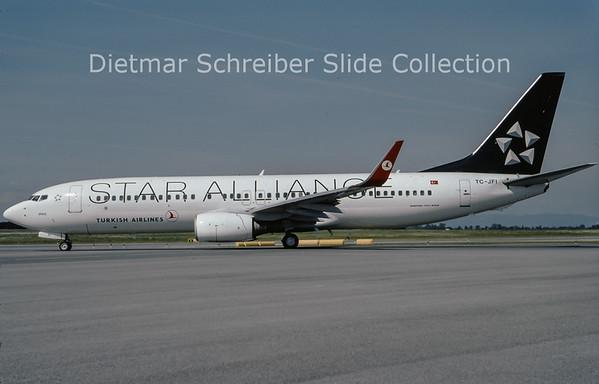 2009-08 TC-JFI Boeing 737-8F2 Winglets (c/n 29771) Turkish AIrlines