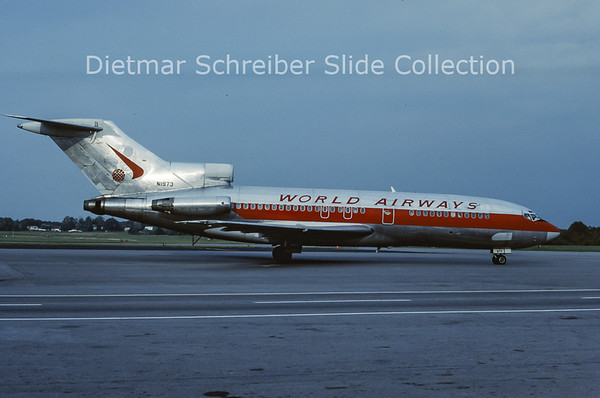 1985-09 N1973 Boeing 727-100 World Airways