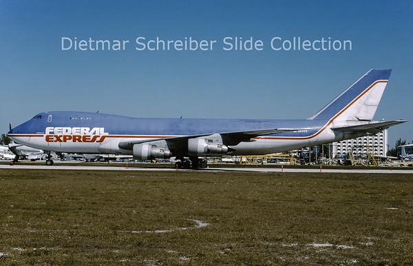 1995-02 N631FE Boeing 747-200 Federal Express