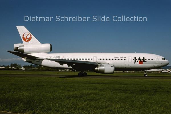 1994-10 JA8540 Douglas DC10 Japan Airlines