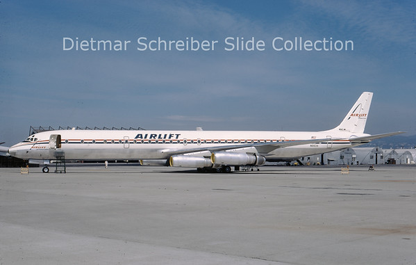 N6163A Douglas DC8-60 Airlift