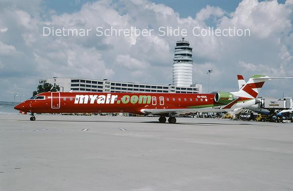 2009-07 EI-DUX Canadair Regionaljet 900 My Air