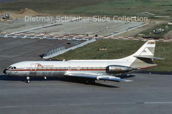 1973-07 EC-BIB Caravelle Aviaco