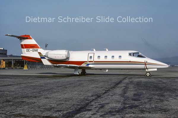 1982-04 OE-GNK Learjet 55 Transair