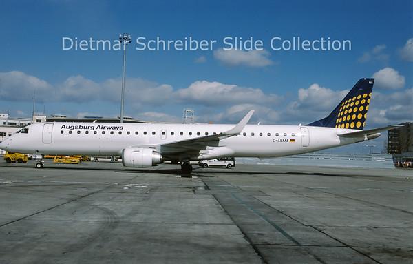 2010-03 D-AEMA Embraer 195LR (c/n 19000290) Augsburg Airways