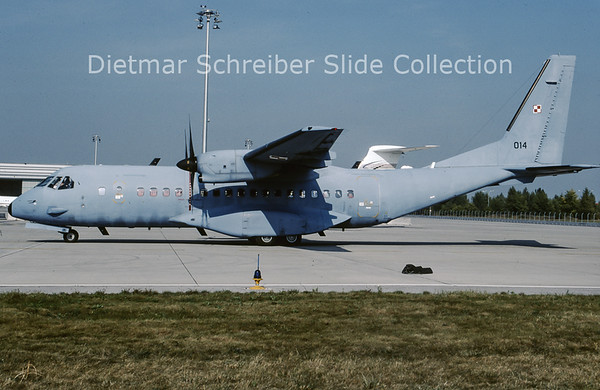 2009-10 014 CASA 295 Polish Air Force