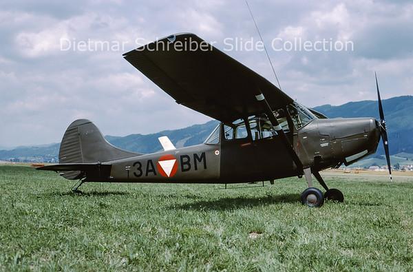 2000-06 3A-BM Cessna L19 Bird Dog Austrian Air Force