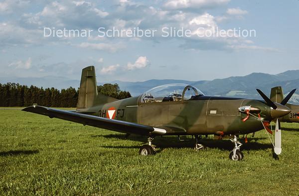2000-06 3H-FJ Pilatus PC7 Austrian Air Force