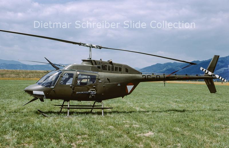 2000-06 3C-OJ Bell 206 Austrian Air Force