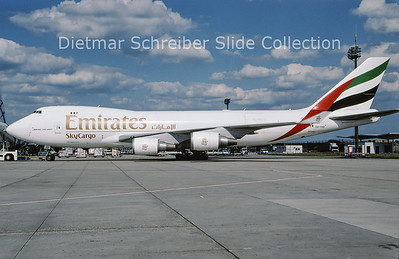 2009-07 OO-THD Boeing 747-4HAERF (c/n 35236) Emirates
