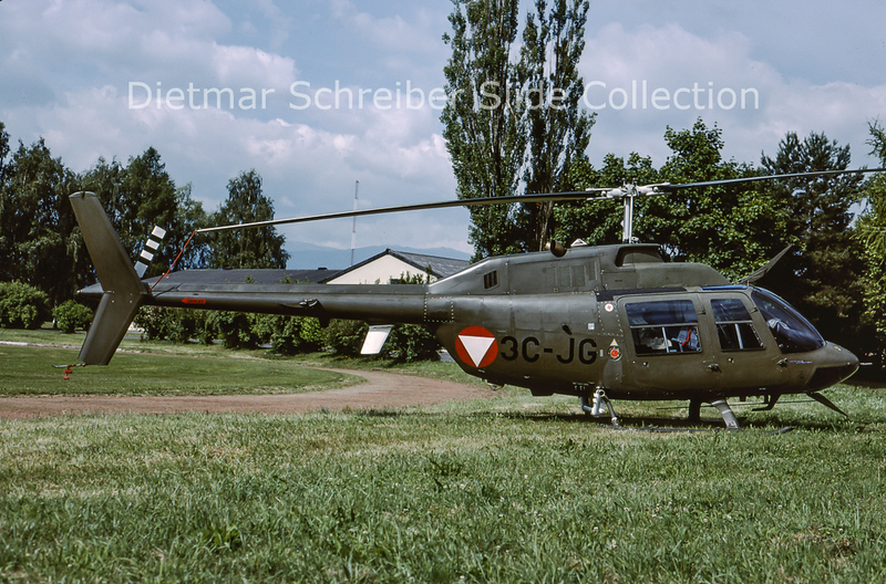 2000-06 3C-JG Bell 206 Austrian Air Force