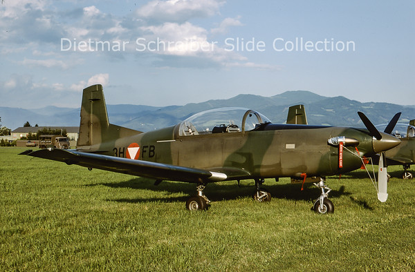 2000-06 3H-FB Pilatus PC7 Austrian Air Force