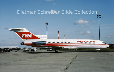 N849TW Boeing 727-100 Trans World Airlines