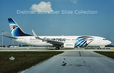 2009-05 SU-GCR Boeing 737-866 Winglets (c/n 35562) Egypt Air