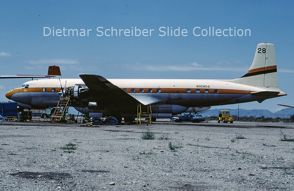1982-05 N90804 Douglas DC7 T and G Aviation