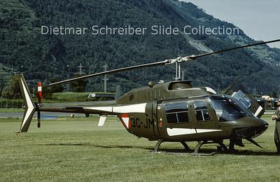 1997-06 3C-JM Bell 206 Austrian Air Force