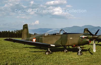 2000-06 3H-FE Pilatus PC7 Austrian Air Force