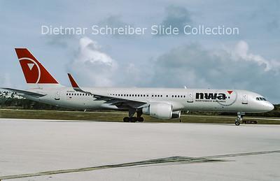 2009-03 N549US Boeing 757-200 Northwest Airlines