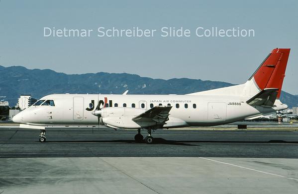 2009-03 JA8888 Saab 340 Japan Air Commuter