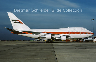 1989-06 A6-SMR Boeing 747SP United Arab Emirates