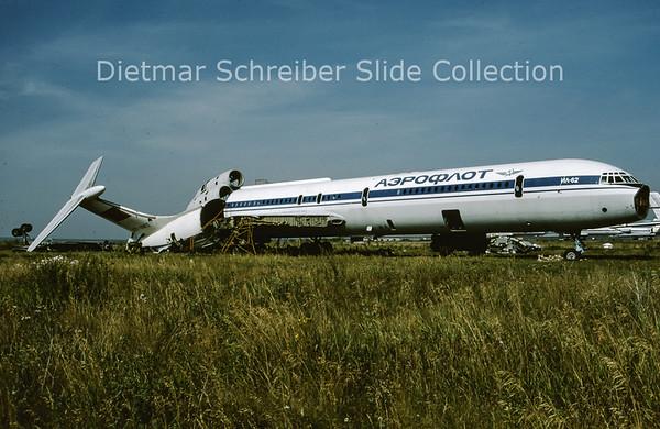 1992-09 CCCP-86572 Ilyushin 62 Aeroflot