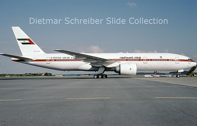 2009-08 A6-ALN Boeing 777-2ANER (c/n 29953) United Arab Emirates