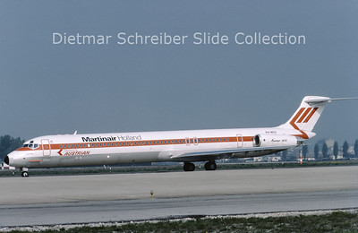 1984-04 PH-MCD MDD MD80 Austrian Airlines