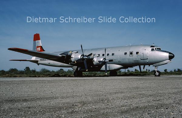 N9080Z Douglas DC7