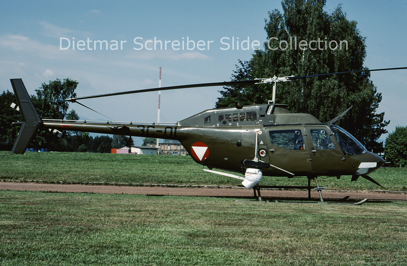 2003-06 3C-OI Bell 206 Austrian Air Force