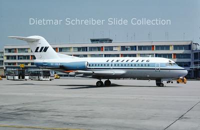 1975-06 SE-DGA Fokker 28 Linjeflyg