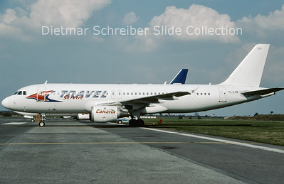 2009-04 YL-LCE Airbus A320-211 (c/n 311) Travel Service