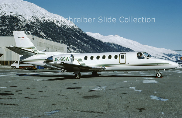 OE-GSW Cessna 560 Citation 5 Tyrolean Jet Service