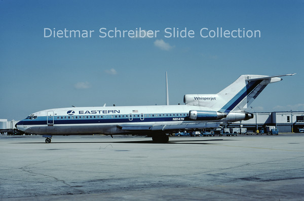 1980-02 N8147N Boeing 727-100 Eastern Airlines