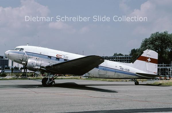 1994-07 HB-ISB Douglas DC-3 (c/n 4667) Classic Air
