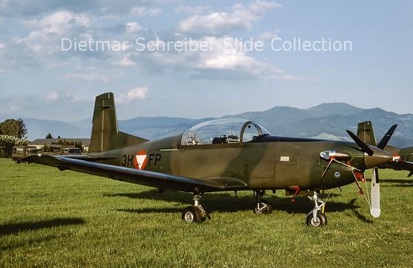 2000-06 3H-FP Pilatus PC7 Austrian Air Force