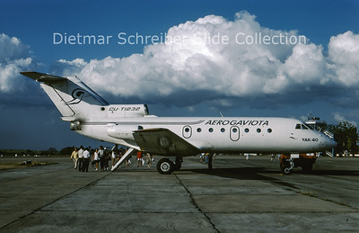 1997-03 CU-T1232 Yakovlev 40 Aerogaviota