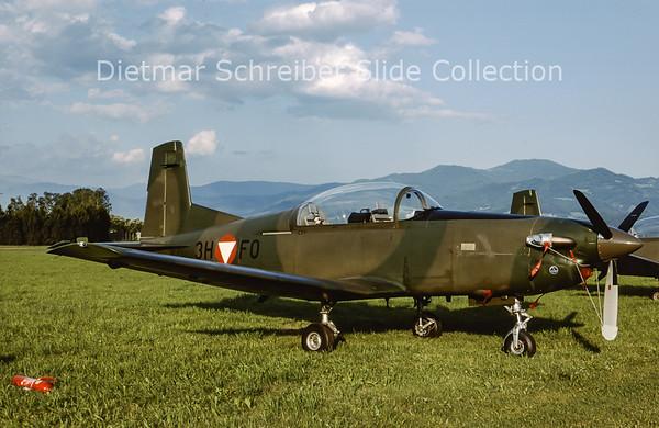 2000-06 3H-FO Pilatus PC7 Austrian Air Force