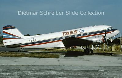 1991-04 YS-53C Douglas DC-3 (c/n 6061) TAES