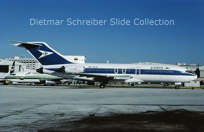 1987-12 HC-BJL Boeing 727-100 Saeta