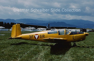 2000-06 3F-SR Saab 91 Safir Austrian Air Force