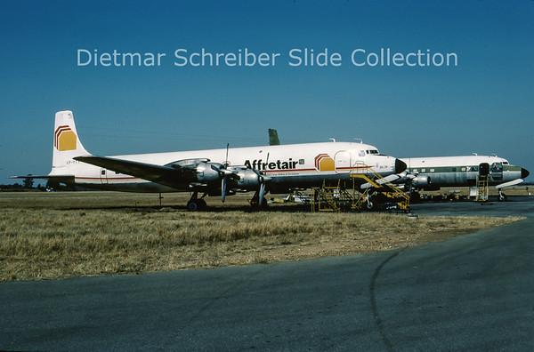 1983-03 VP-YTY Douglas DC7 Affretair